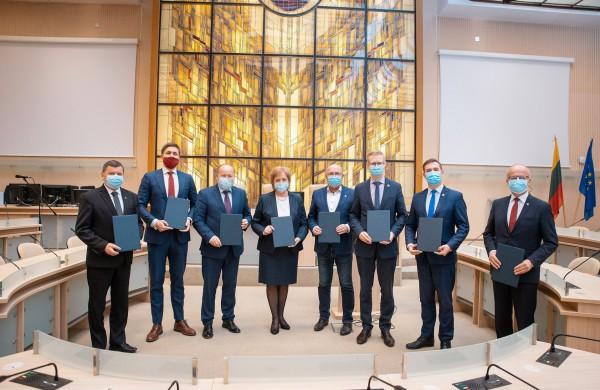 Įsteigta Kauno regiono plėtros taryba stiprins bendradarbiavimą tarp savivaldybių