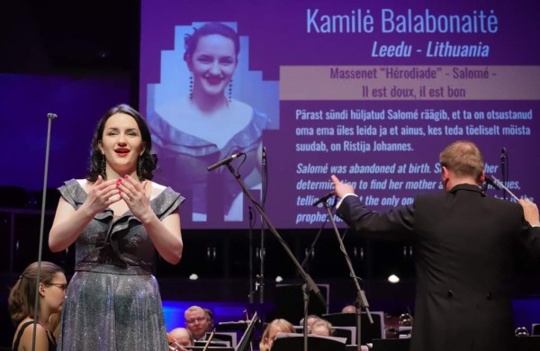 Operos solistė K. Balabonaitė: Pagrindinis mano tikslas – nuolat tobulėti ir džiuginti klausytojų širdis