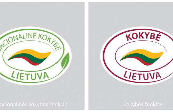Keisis ženklas, kuriuo žymimi pagal nacionalinę kokybės sistemą pagaminti lietuviški produktai