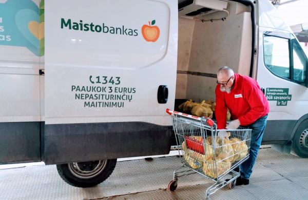 """""""Maisto bankas"""" dėkoja visiems, šiais metais prisidėjusiems prie organizacijos veiklos"""