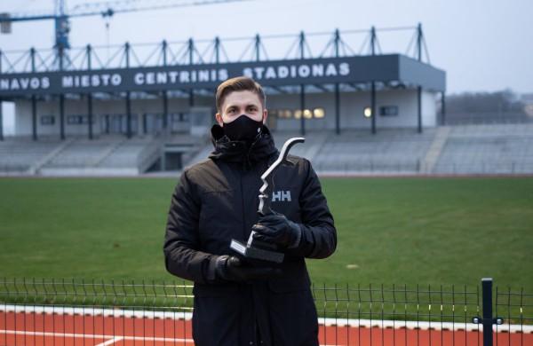 Jonavos merui įteiktas Metų sporto miesto apdovanojimas