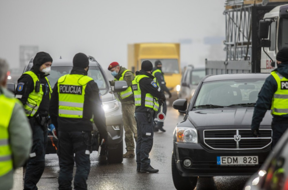 VRM: policija artimiausiu metu pateiks planą dėl judėjimo ribojimų kontrolės