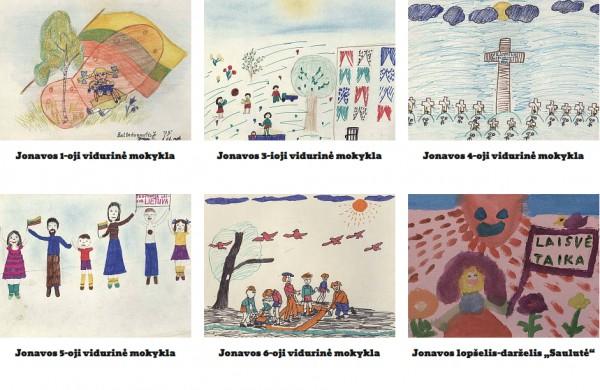 Virtualioje galerijoje – prieš 30 metų kurti piešiniai, vaizduojantys Sausio 13-ąją vaikų akimis