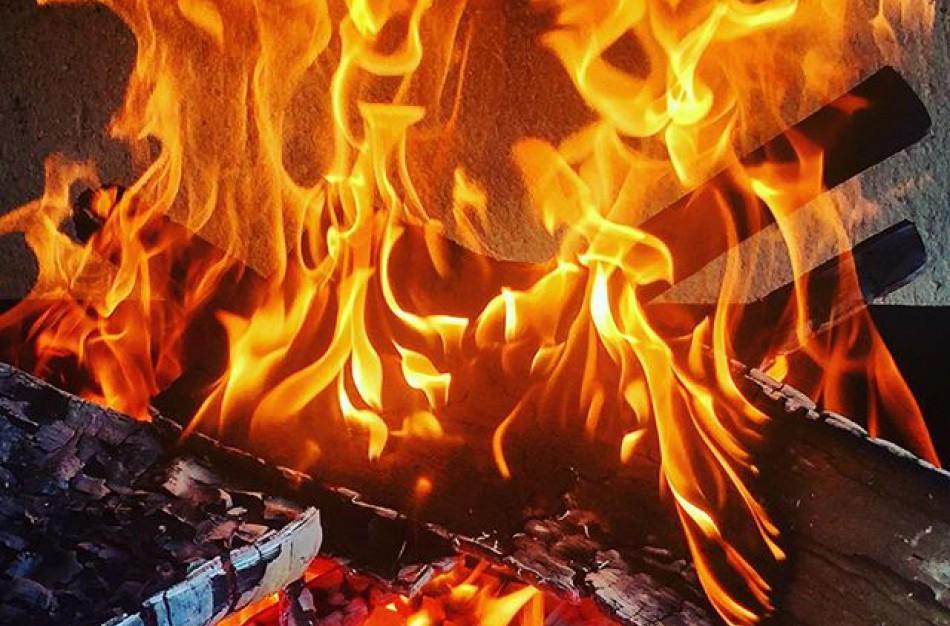Įtariama, kad Salupių kaime įvykdytas tyčinis padegimas