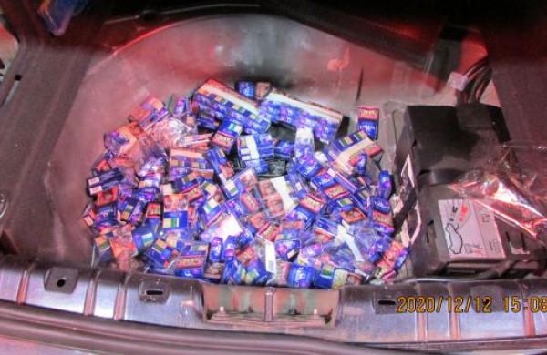 Muitinė 2020: pernai sulaikytas didžiausias cigarečių kontrabandos kiekis institucijos istorijoje
