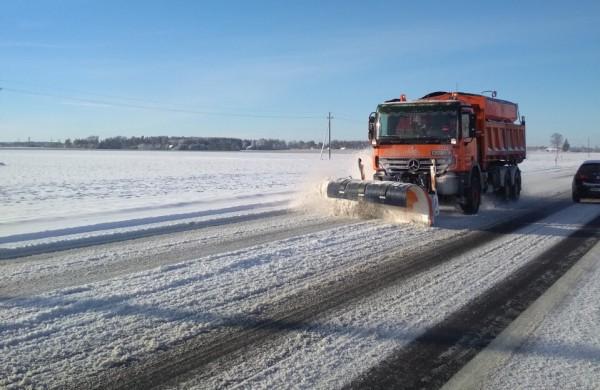 """AB """"Kelių priežiūra"""": Snygis baigėsi – situacija keliuose stabilizavosi"""