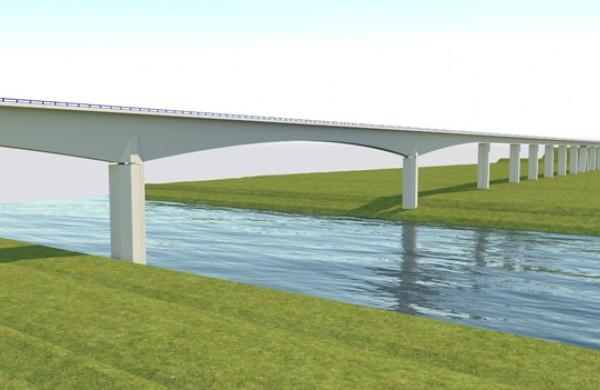 Skelbiamas geležinkelio tilto per Nerį statybos darbų Jonavoje priežiūros konkursas