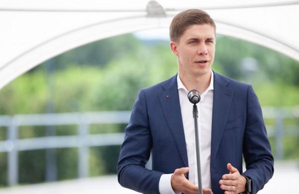 Balsavime nugalėjęs V. Blinkevičiūtę, LSDP laikinai vadovaus Mindaugas Sinkevičius