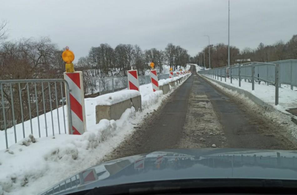 Kada bus baigti Upninkų tilto remonto darbai?
