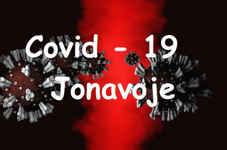 Covid-19 rajone: pagal visų 60 šalies savivaldybių sergamumą, Jonava užima 44-ąją poziciją