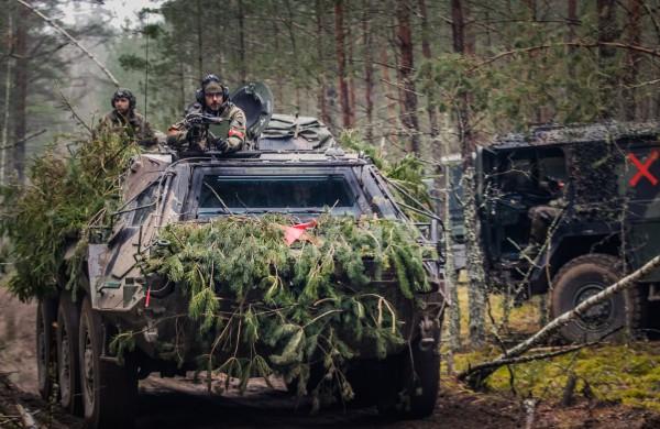 Rukloje – ketvirtųjų NATO priešakinių pajėgų bataliono kovinės grupės dislokavimo Lietuvoje metinių minėjimas