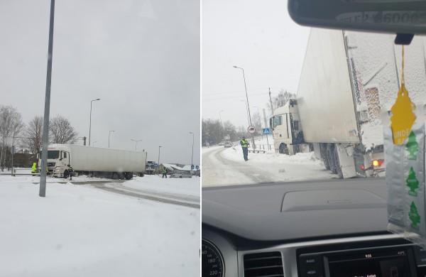 Jonavos rajone sudėtingos eismo sąlygos, būkite budrūs!