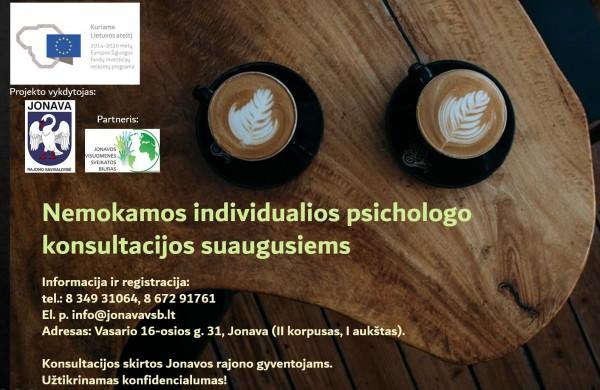 Individuali psichologo konsultacija –vaistas sielai