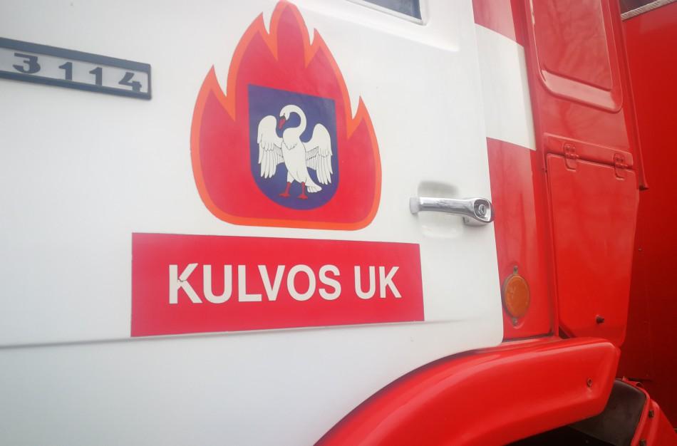 Ručiūnu kaime liepsnos pasiglemžė pirtį, gaisras pridarė nemenkos žalos