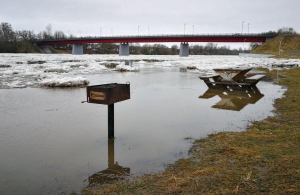Lietuvos hidrometeorologijos tarnyba Jonavoje prognozuoja potvynį