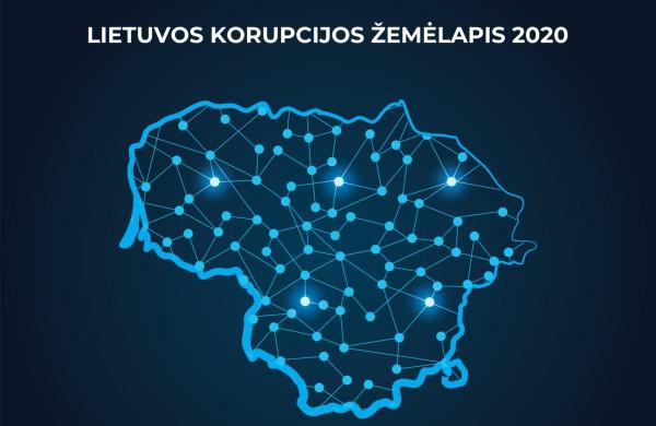 Lietuvos korupcijos žemėlapis 2020: stebimos kyšininkavimo mažėjimo tendencijos, bet korupcijos problema išlieka aktuali
