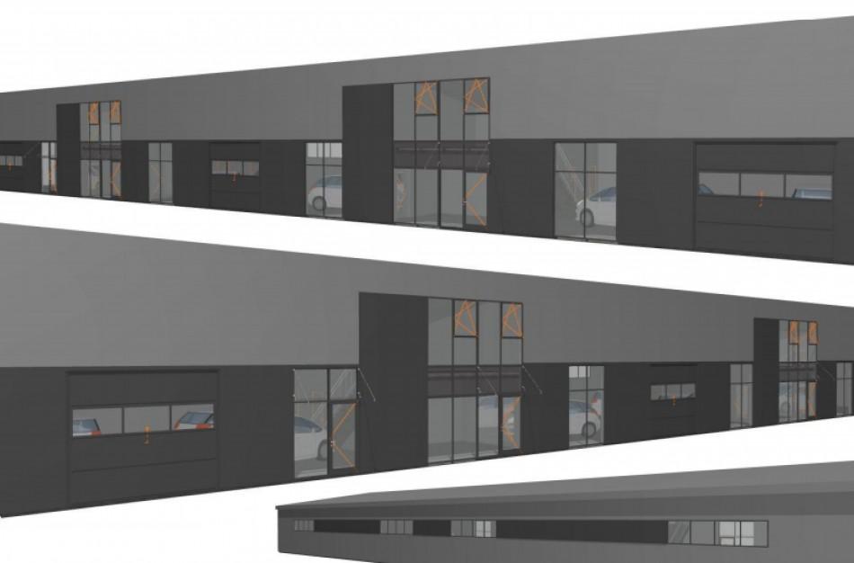 Kauno gatvėje bus statomas naujas paslaugų paskirties pastatas