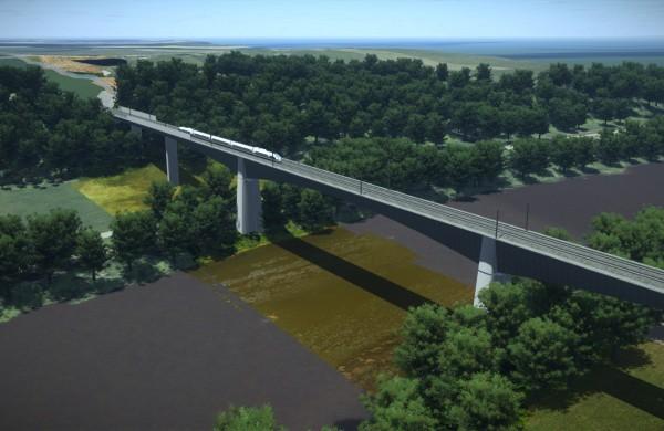 """""""Rail Baltica"""" iš naujo vykdys  didžiausio Baltijos valstybėse geležinkelio tilto statybos rangovo konkursą"""