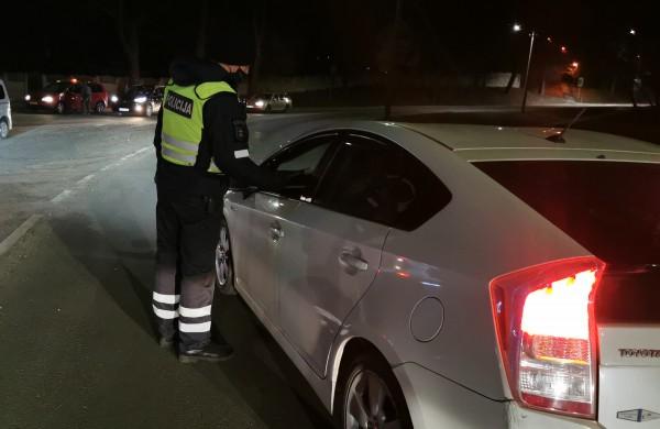 Savaitgalį blaivumą pasitikrino beveik 1500 vairuotojų