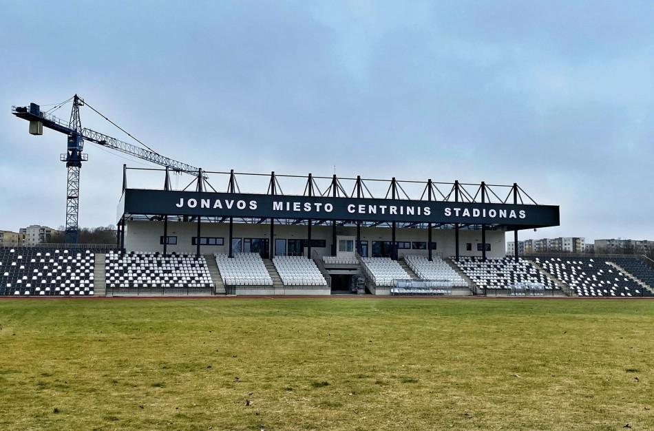 Prisidėk prie Jonavos miesto centrinio stadiono logotipo kūrimo!