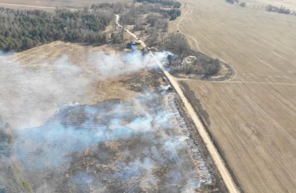 Valstybinių miškų urėdija įspėja gyventojus: pavasarį prasideda gaisrams palankus laikotarpis