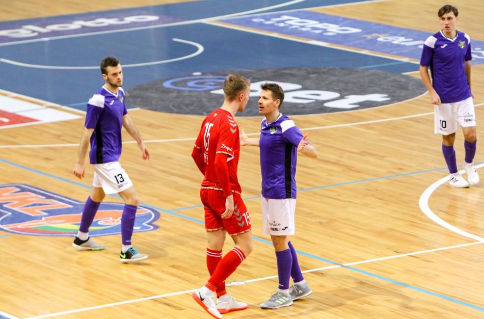 Paaiškėjo Optibet Futsal A lygos finalininkai