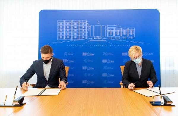 Vyriausybė ir Lietuvos savivaldybių asociacija pasirašė bendradarbiavimo susitarimą
