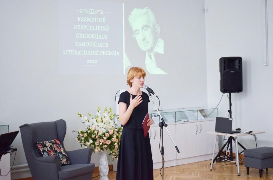 Paskelbtas G. Kanovičiaus literatūrinės premijos konkursas