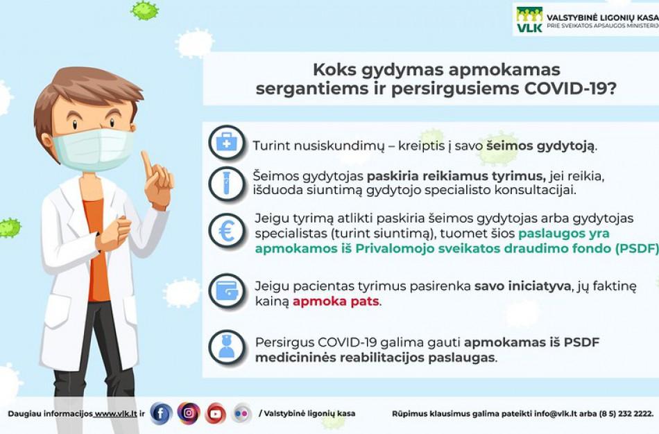 Svarbiausi dalykai apie persirgusiųjų COVID-19 liga reabilitaciją