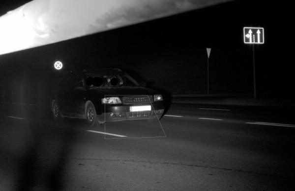 """Mieste pasijuto lyg automagistralėje – užfiksuotas 132 km/val greičiu lėkęs """"Audi"""""""