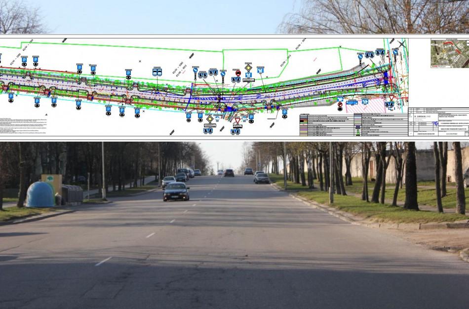 Pristatomas pakoreguotas Lietavos g. rekonstrukcijos projektas, kviečiama teikti pasiūlymus