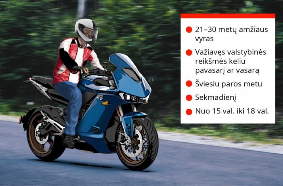 Motociklininkų sezonas prasidėjo – ar bus pasimokyta iš svetimų klaidų