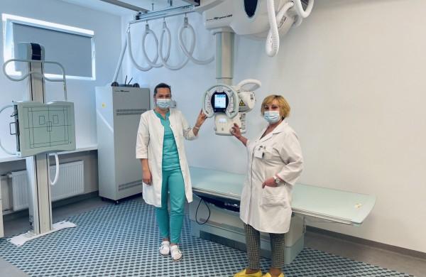 Ligoninėje – naujas rentgeno aparatas ir atnaujintos patalpos