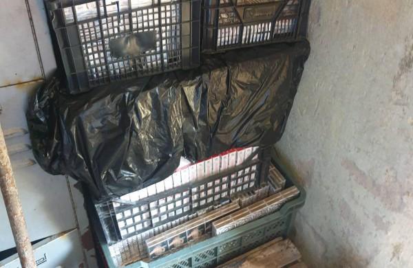 Jonavoje rastos neteisėtai laikytos cigaretės su baltarusiškomis banderolėmis