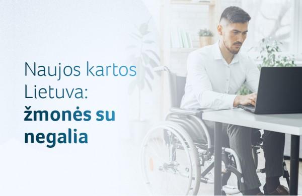 Žmonėms su negalia – mobiliosios programėlės, reformuota negalios nustatymo sistema