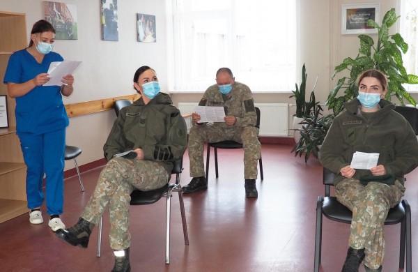 Lietuvos kariuomenėje pradėta masinė personalo vakcinacija