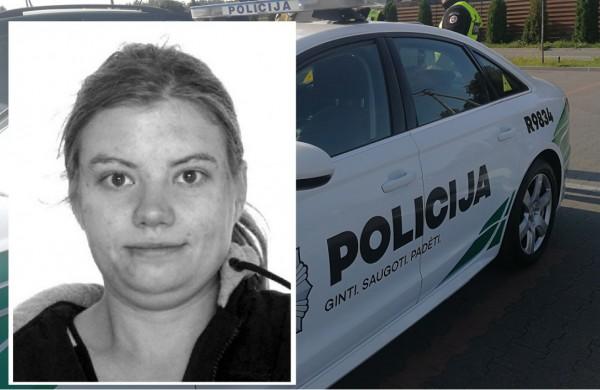 Surasta policijos ieškoma dingusi jauna jonavietė