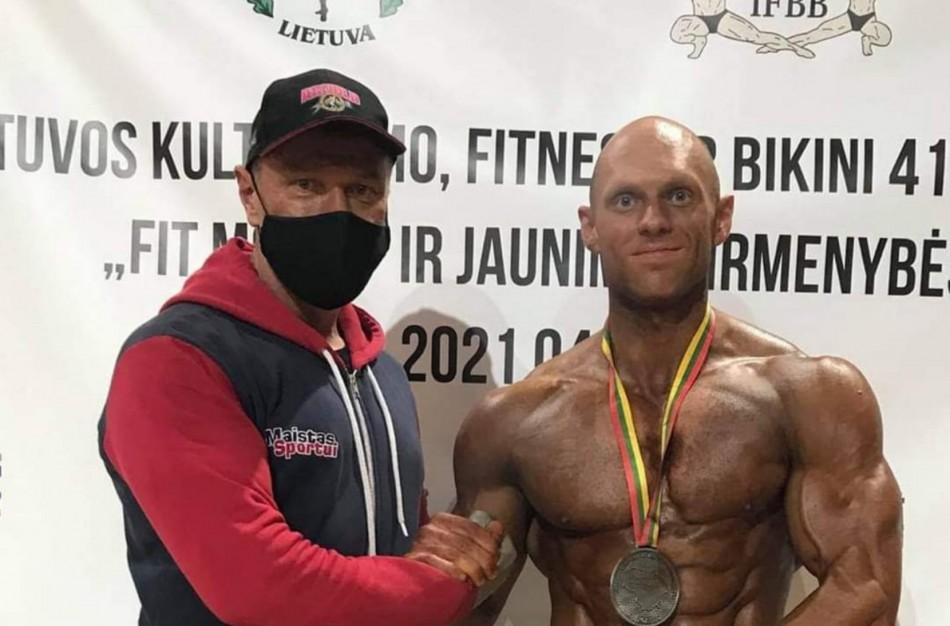 Lietuvos kultūrizmo, fitneso ir bikini čempionate - jonaviečio sėkmė