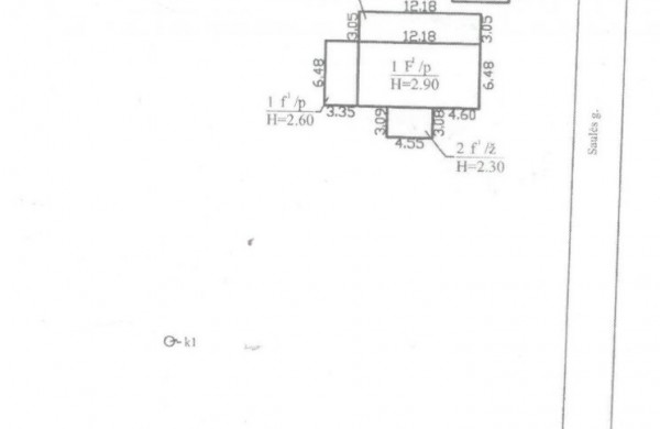 Sandėlio su sklypu Saulės g. 5A, Užusaliai, Jonavos r., pardavimo aukcionas