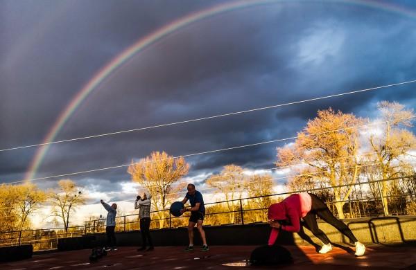 Atlaisvinus karantino reikalavimus, jonaviečiai grįžta į sporto klubus