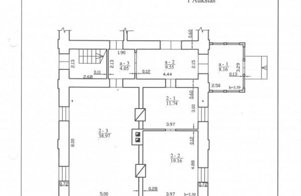Negyvenamųjų patalpų Dienovidžių g. 45-2, Keižonių k., Upninkų sen., pakartotinis pardavimo aukcionas