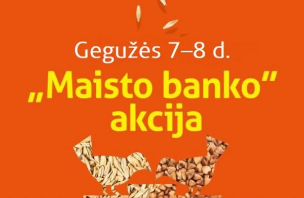 """Šį savaitgalį jonaviečiai kviečiami aukoti """"Maisto banko"""" akcijoje"""