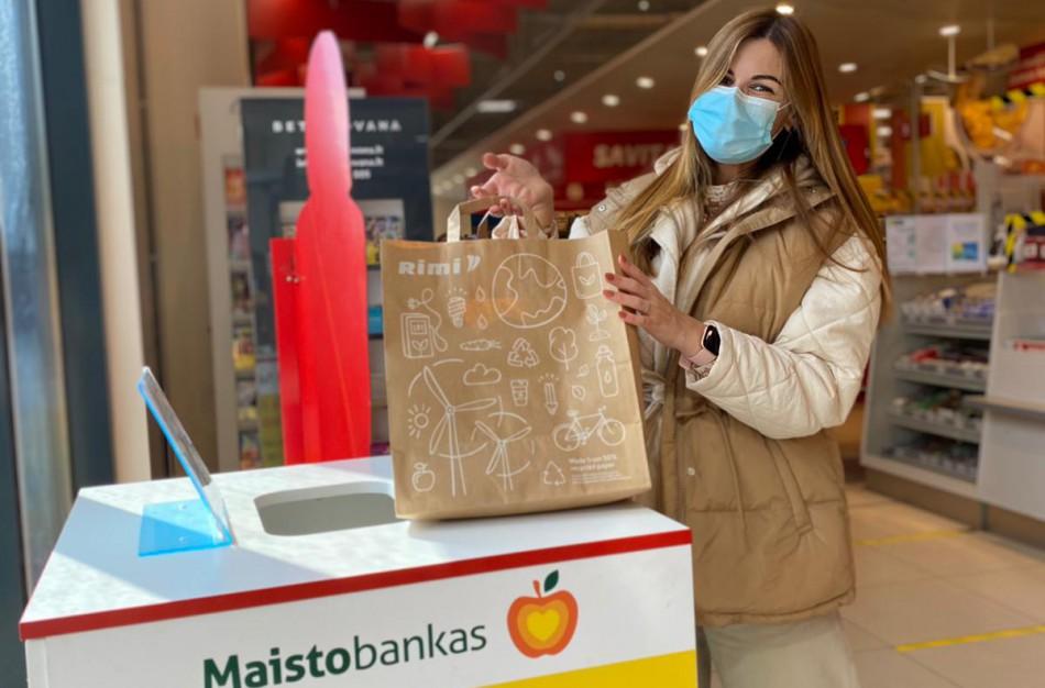 """Prasidėjo """"Maisto banko"""" akcija: padėti pandemijos akivaizdoje skatina ir žinomos moterys"""