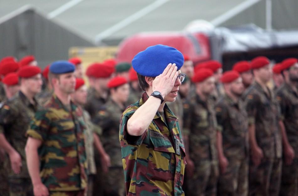 Į Ruklą savo karių aplankyti atvyksta Belgijos gynybos ministrė ir kariuomenės vadas