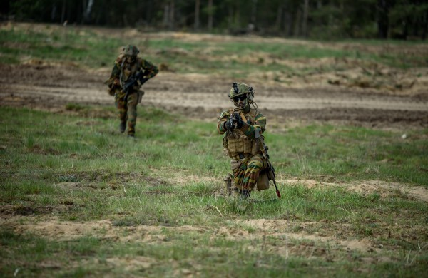 Rukloje susitiko Lietuvos ir Belgijos kariuomenių vadai