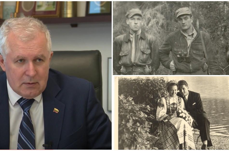 """Ministras Arvydas Anušauskas: """"Prisimindami Juozą Lukšą prisimename visą Lietuvos rezistenciją"""""""
