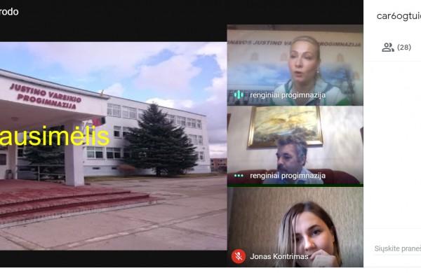 """Jonavos Justino Vareikio progimnazijos renginys """"Aš ir mano Šeima"""""""