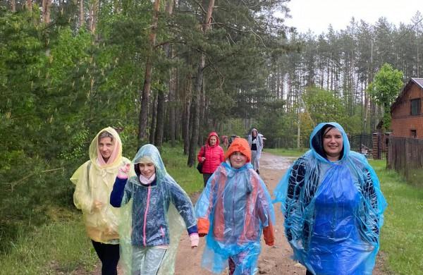 Net ir lietus neišgąsdino – įveikti trasą