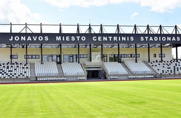 Šventė Jonavoje - Moterų Baltijos taurės kovos vyks rekonstruotame miesto stadione
