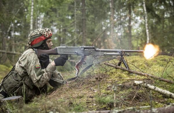Pratybose Jonavos rajone – didelė puolimo ir gynybos operacija